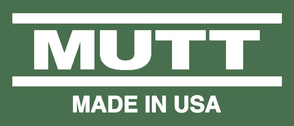 MUTT Made in USA White Logo