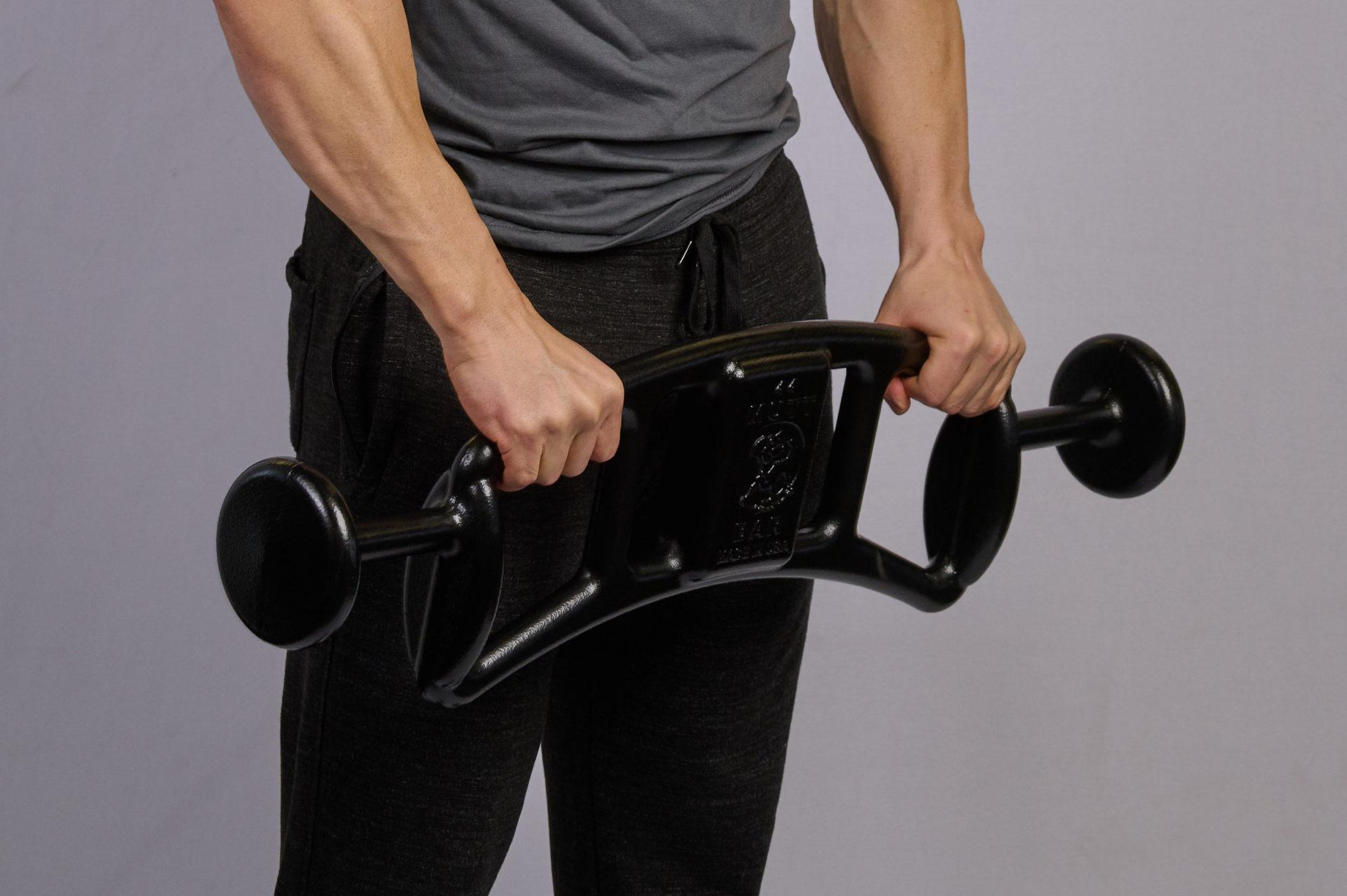 Front Raises with 44lb MUTT Bar - MUTT Made in USA