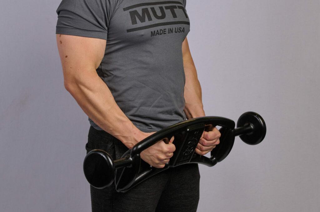 Hammer Curl with 44lb MUTT Bar - MUTT Made in USA
