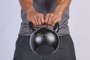 Goblet Squat with MUTT Kettlebell - MUTT Made in USA