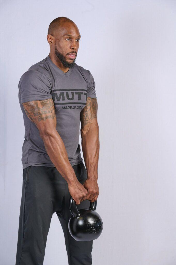 Double Hand Swing with MUTT Kettlebell - MUTT Made in USA