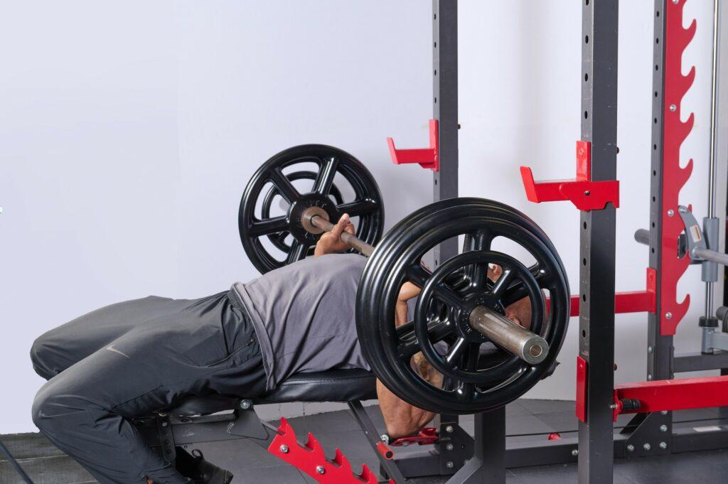 Bench Press with MUTT Wheel - MUTT Made in USA